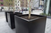 Zintec Steel Polyester Powder Coated Planters