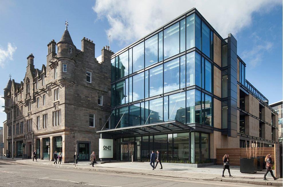 IOTA Planters at Edinburghs Largest Office Building