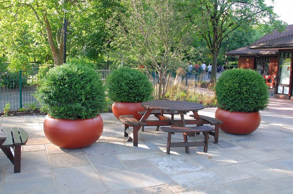 Boulevard Planters Concieved By Willmott Whyte