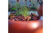 Pearl Copper RAL Colour On FRC Planter