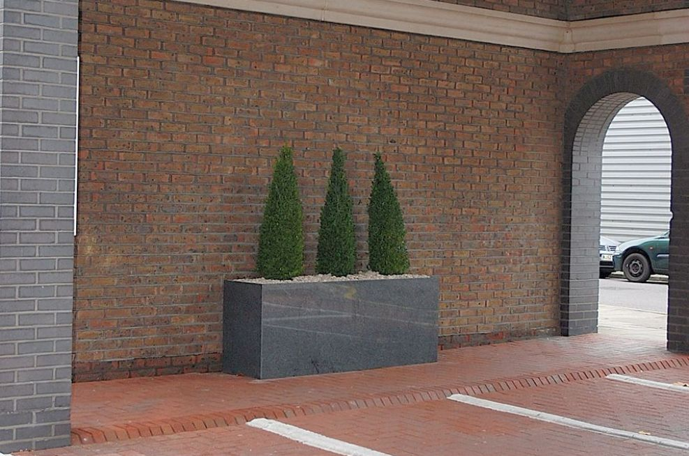 Bespoke Granite Trough Planters