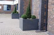Granite Planters from IOTA Commissioned For The Plantation Warf
