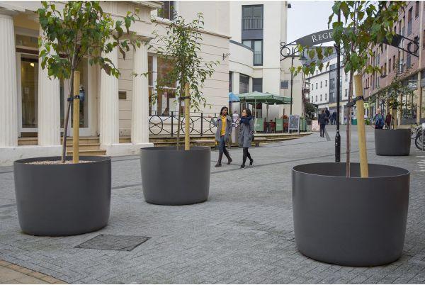 Boulevard Planters At Regent Court, Royal Leamington Spa