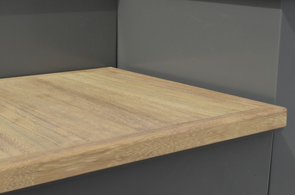 The Bench Section Is Removable Iroko FSC Timber Seating