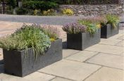 Extra Large Granite Trough Planter From IOTA