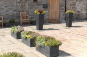 Granite Planters at Rolls-royce Corporate Hospitality Venue