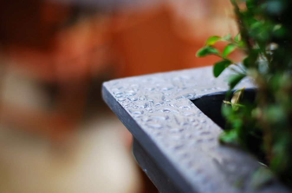 Close Up Of Waterproof Lead Planters