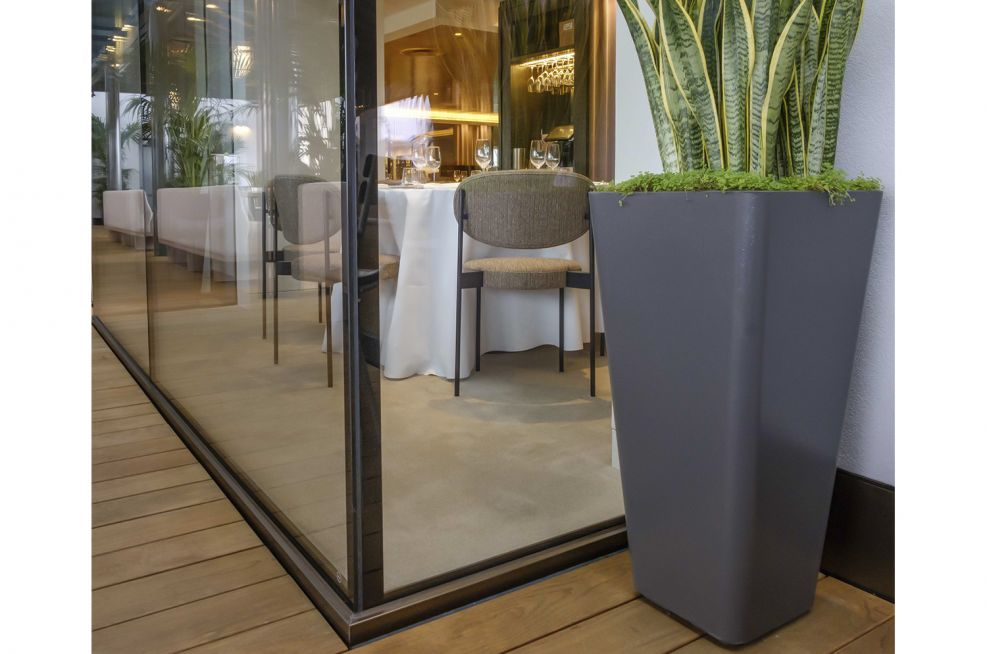 Commercial Lightweight Composite Planters