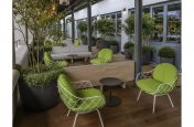 Terrace Seating Planters and Pots