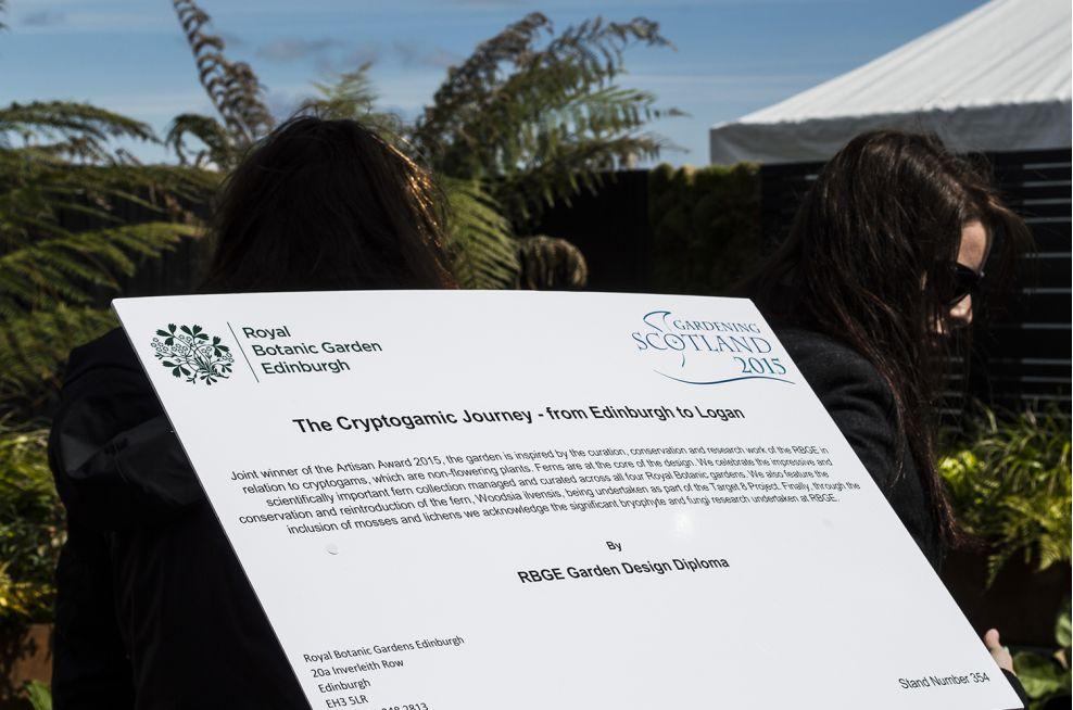 Donated IOTA Royal Botanic Garden, Edinburgh