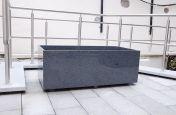 Custom Granite Trough Planter 25mm Thickness
