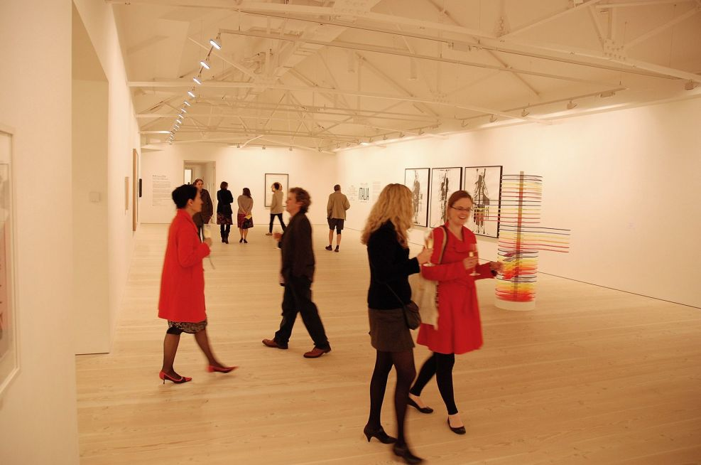 Saatchi Gallery, June 2010