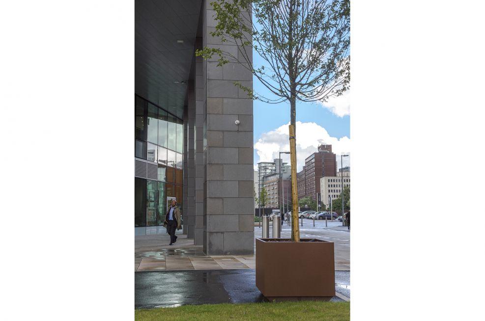 Street furniture planters