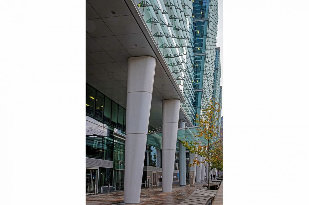 Snowhill development business district