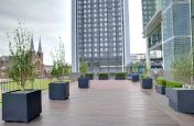 External Granite Trough And Tree Planters