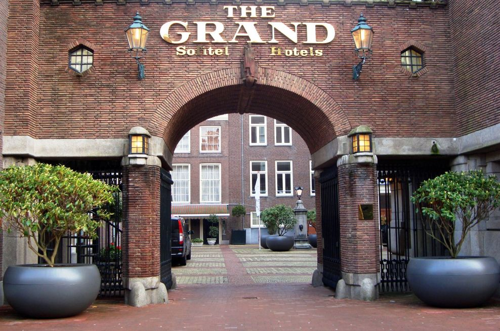 Aladin Boulevard Planters Sofitel Amsterdam The Grand