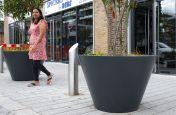 Station Square public realm planters