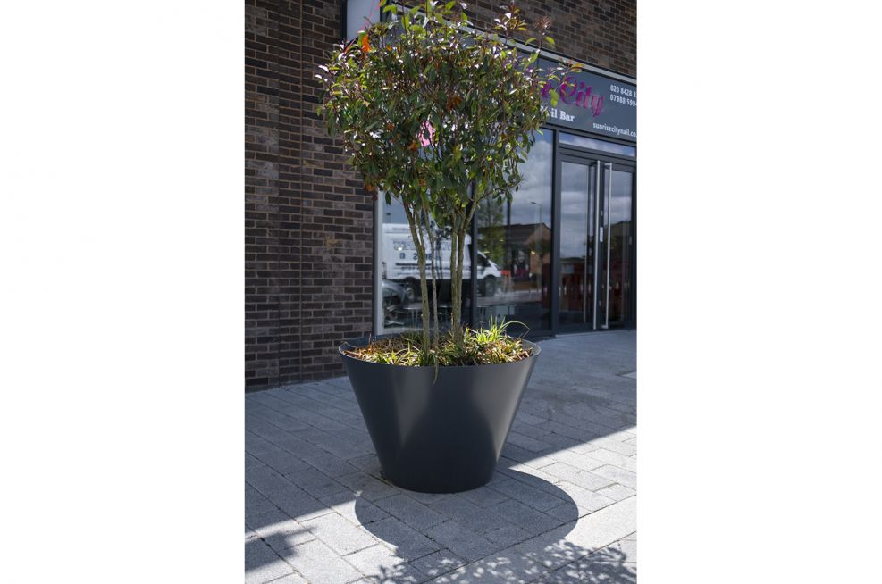 Tree planters for the public realm