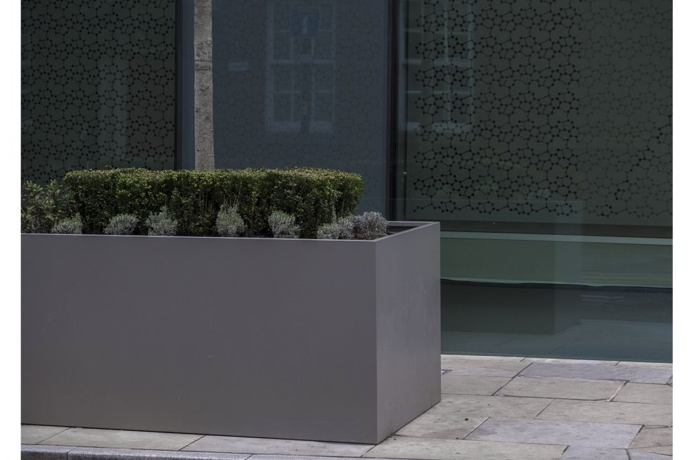 Manchester Street Planters in Steel