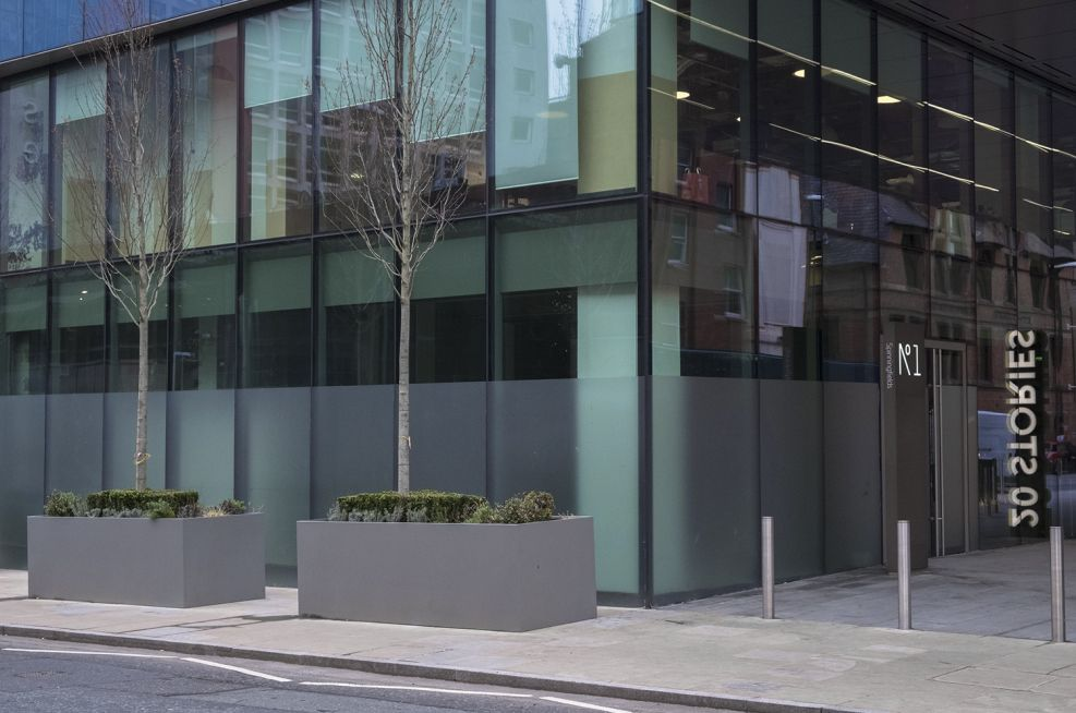 Bespoke Planters for Commercial Offices