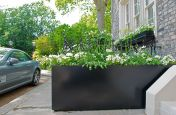 Garden Planters With Bespoke Powder Coating