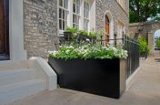 Rectangular Bespoke Powder Coated Steel Planters