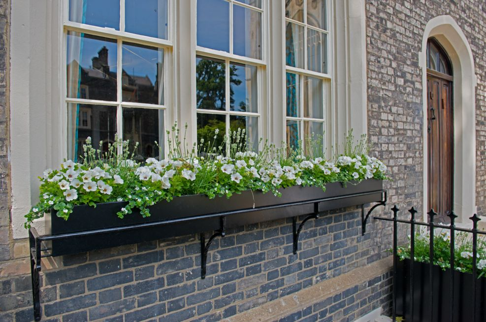 IOTA Steel Powder Coated Window Boxes