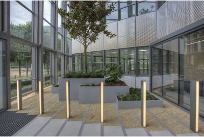 Bespoke Steel Office Planters Stockley Park, Uxbridge, Hillingdon UB11
