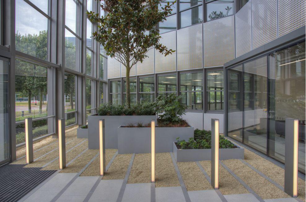 Bespoke Steel Office Planters Stockley Park, Uxbridge, Hillingdon UB11