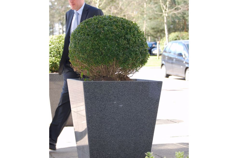 Taper 800 Planters Made From Granite
