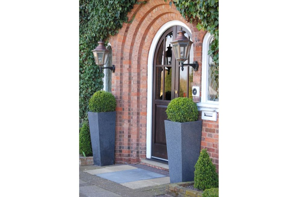 Taper XXL Planters Made From Granite