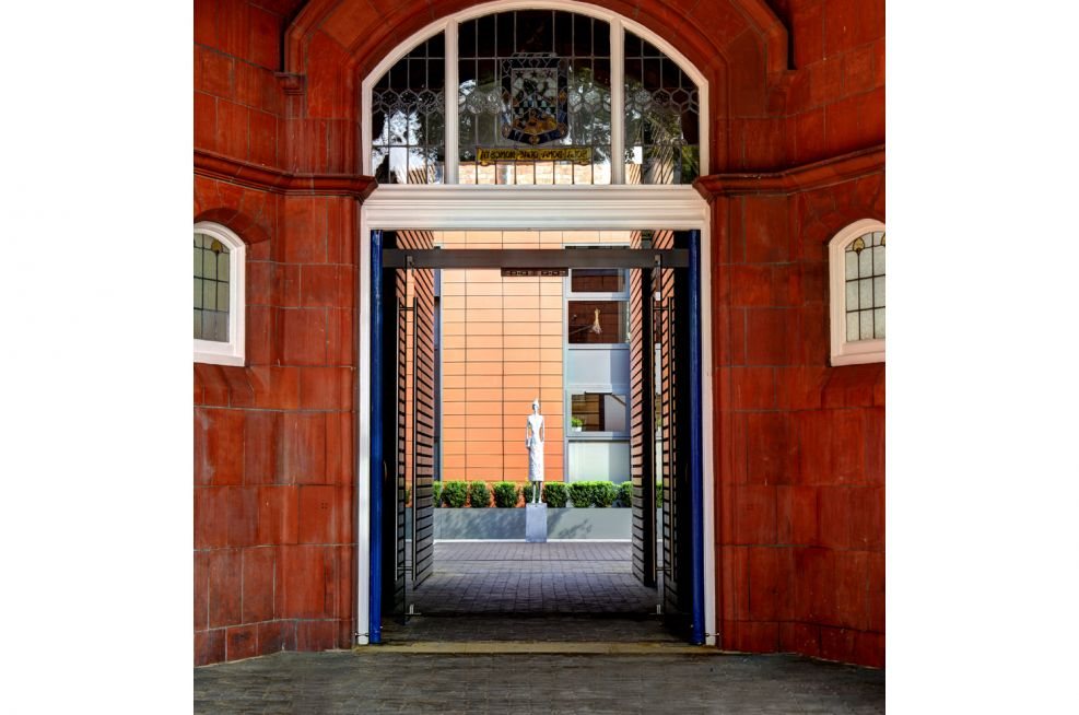 Entrance To The Old Library Courtyard