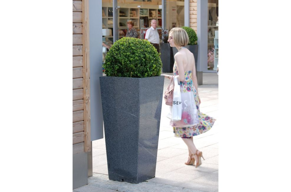 Largest Tall Taper Planter