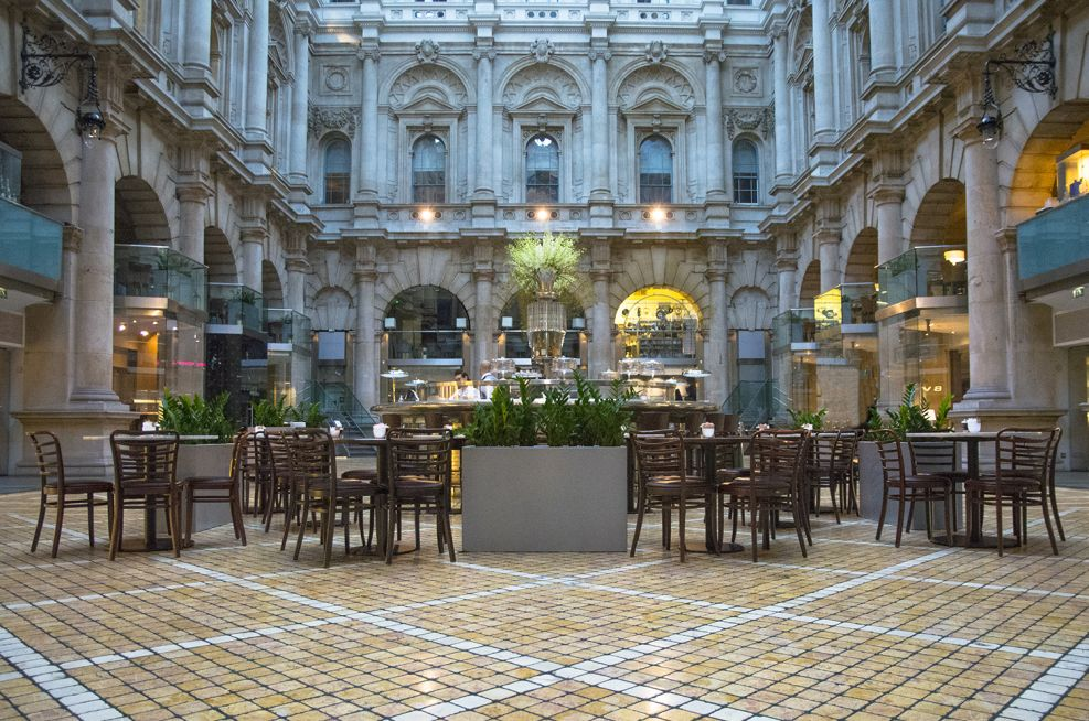 Planters at The Royal Exchange From IOTA