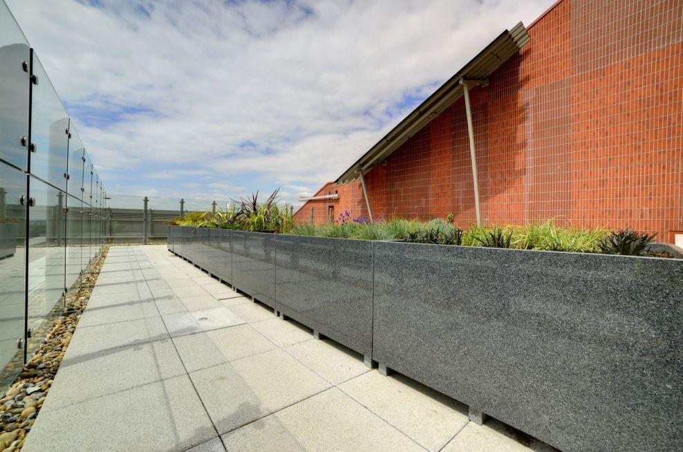 Bespoke Granite Planters From IOTA