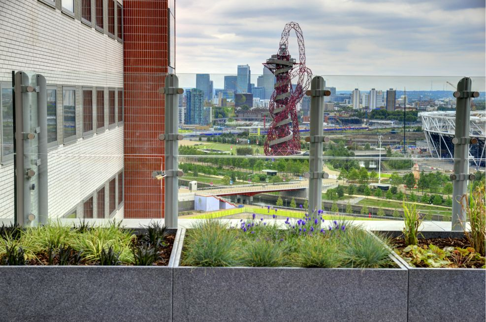 Granite Planters And Panoramic Views