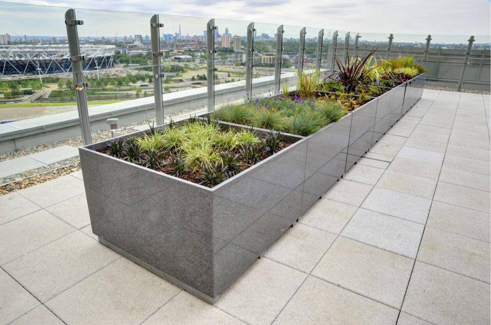 IOTAs Bespoke Granite Planters