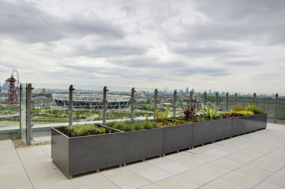 Large Granite 25mm Thick Solid Granite Planters