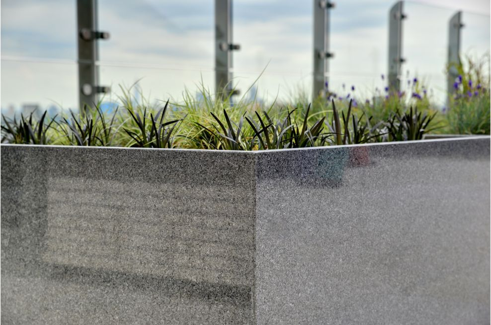 Mirror Polished External Granite Planters