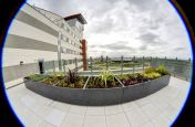 Terrace Granite Planters On 12th Floor