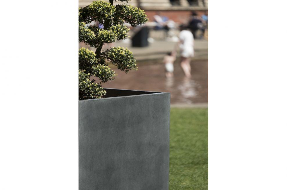 Custom Made Zinc Planters