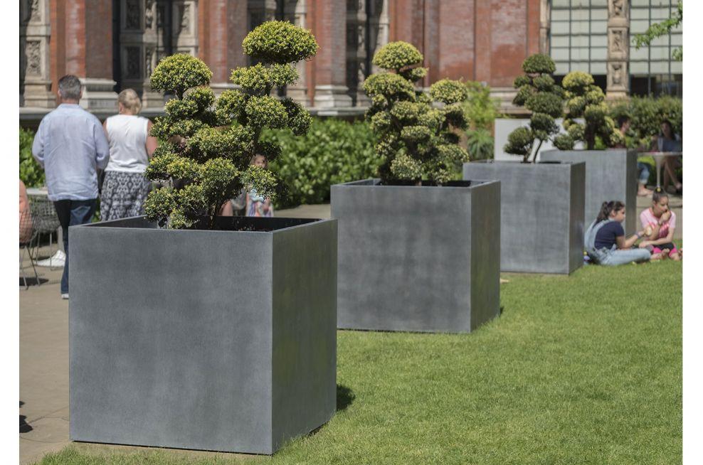 Zinc Tree Planters for Public Space