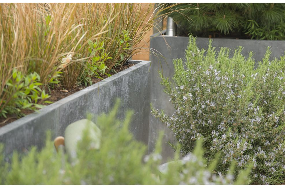 Bespoke Planters in Steel And Zinc