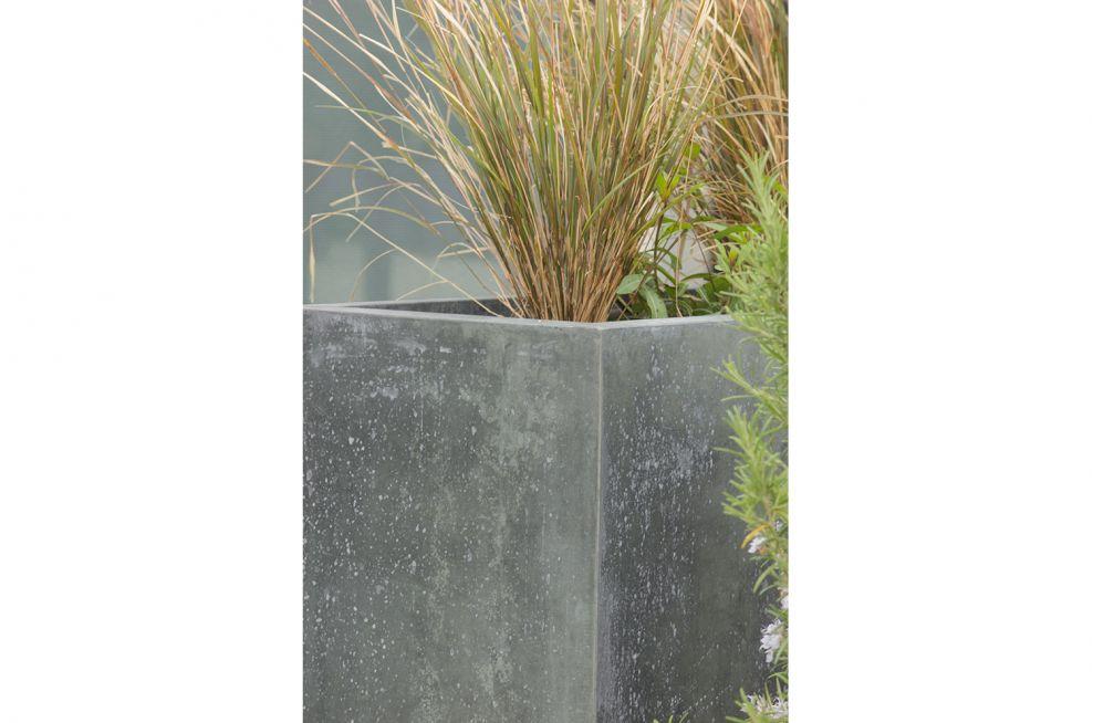 Bespoke Zinc Cladded Planters From IOTA