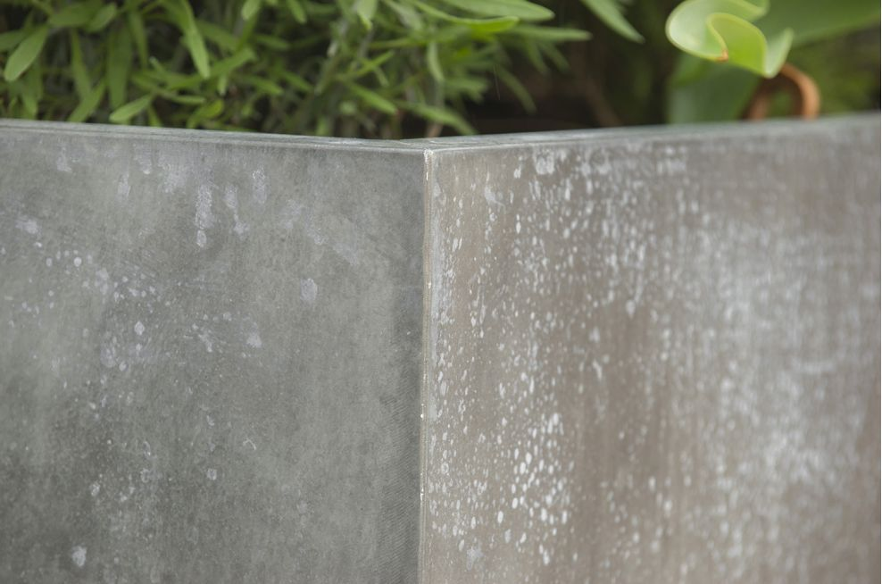 IOTA Supplied Zinc Cladded Steel Framed Planters
