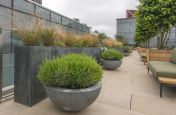 Planters Made From Zinc