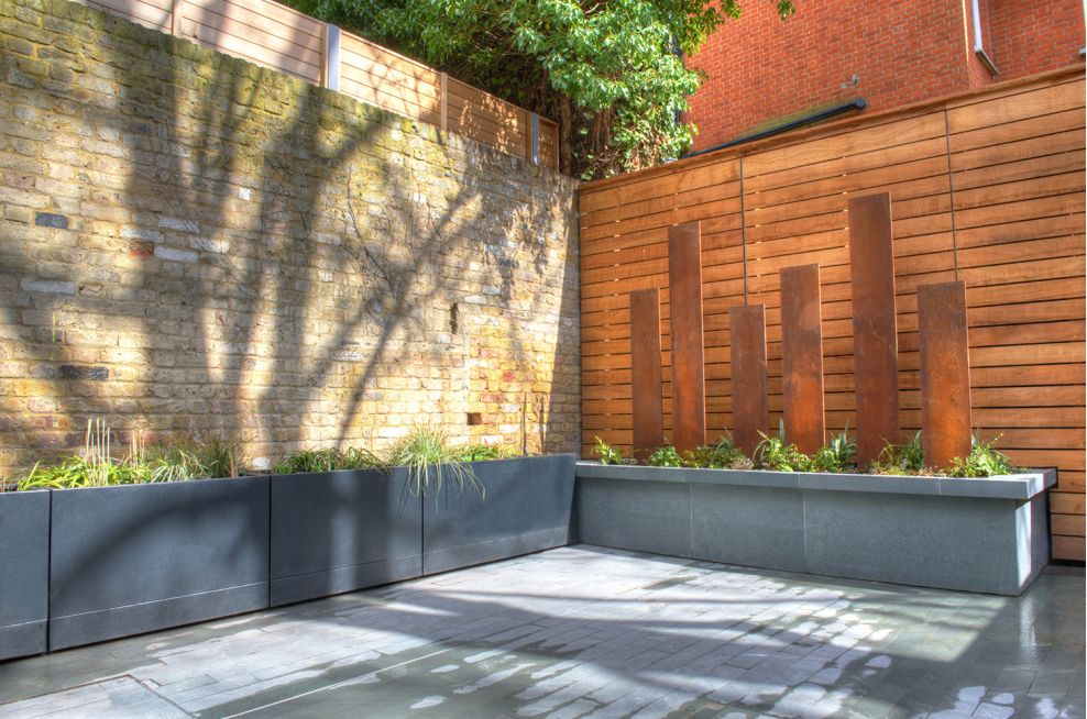 Zintec Steel Planters With A Polyester Powder Coated Finish