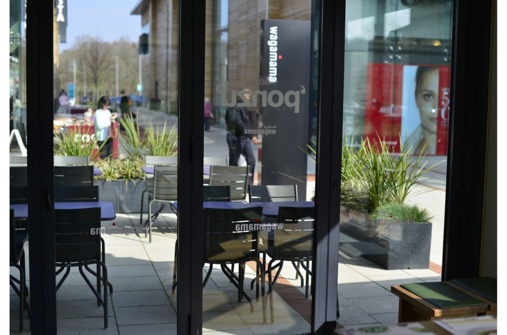 Wagamama, Whiteley Village Shopping Centre External Weatherproof Planters