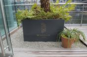 Zintec Steel Polyester Ppowder Coated Planters