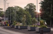 Planters Commissioned By Warrington Borough Council